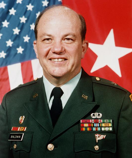 BGEN Edward R. Baldwin Jr., USA (uncovered)