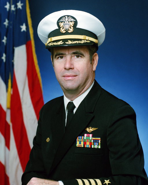 Portrait:  US Navy (USN) Captain (CAPT) Eric L. Peterson (covered)