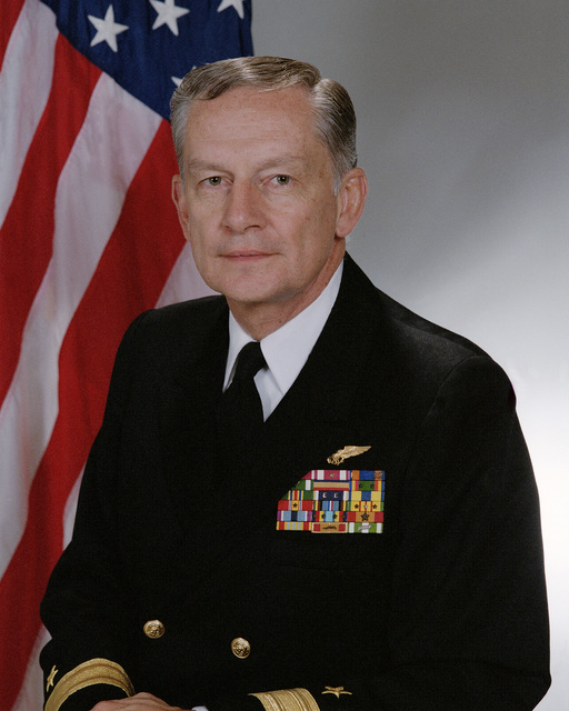Portrait:  US Navy (USN) Rear Admiral (RDML) (lower half) Eugene D. Conner (uncovered)