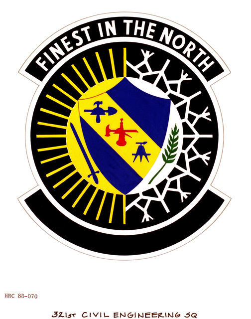 Approved Insignia For 321st Civil Engineering Squadron Look And