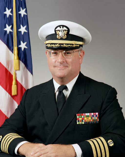 Portrait:  US Navy (USN) Captain (CAPT) Peter C. Wylie (covered)