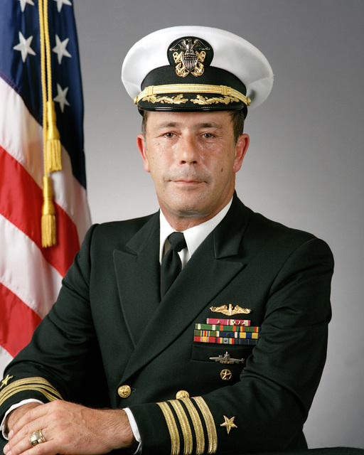 Captain (CAPT) Allison J. Holifield Jr., USN (covered)