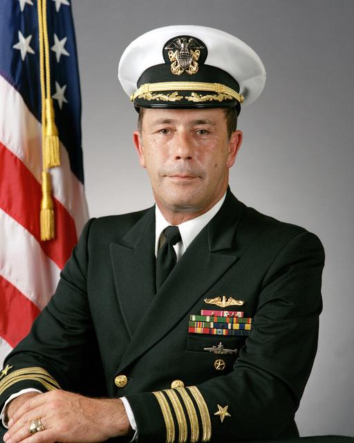 Captain (CAPT) Allison J. Holifield Jr., USN (covered)