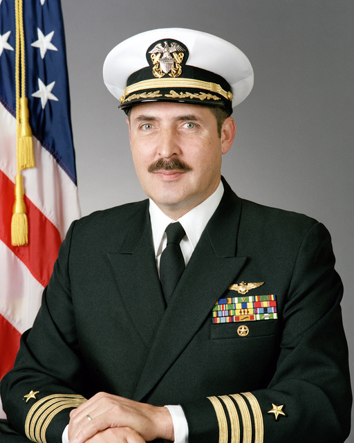 Captain (CAPT) Barry N. Jeffers, USN (covered)