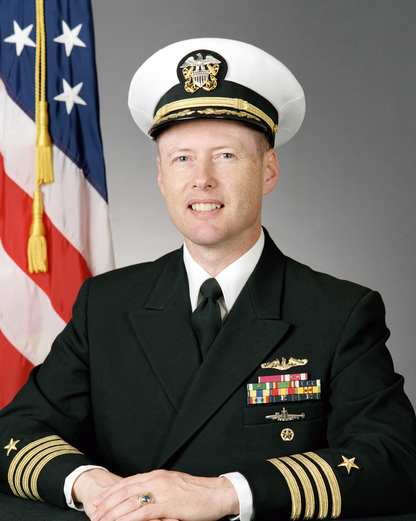Captain (CAPT) Wade H. Taylor, USN (covered)