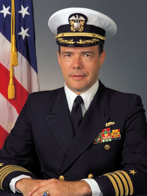 Captain (CAPT) Dale H. Moses, USN (covered)