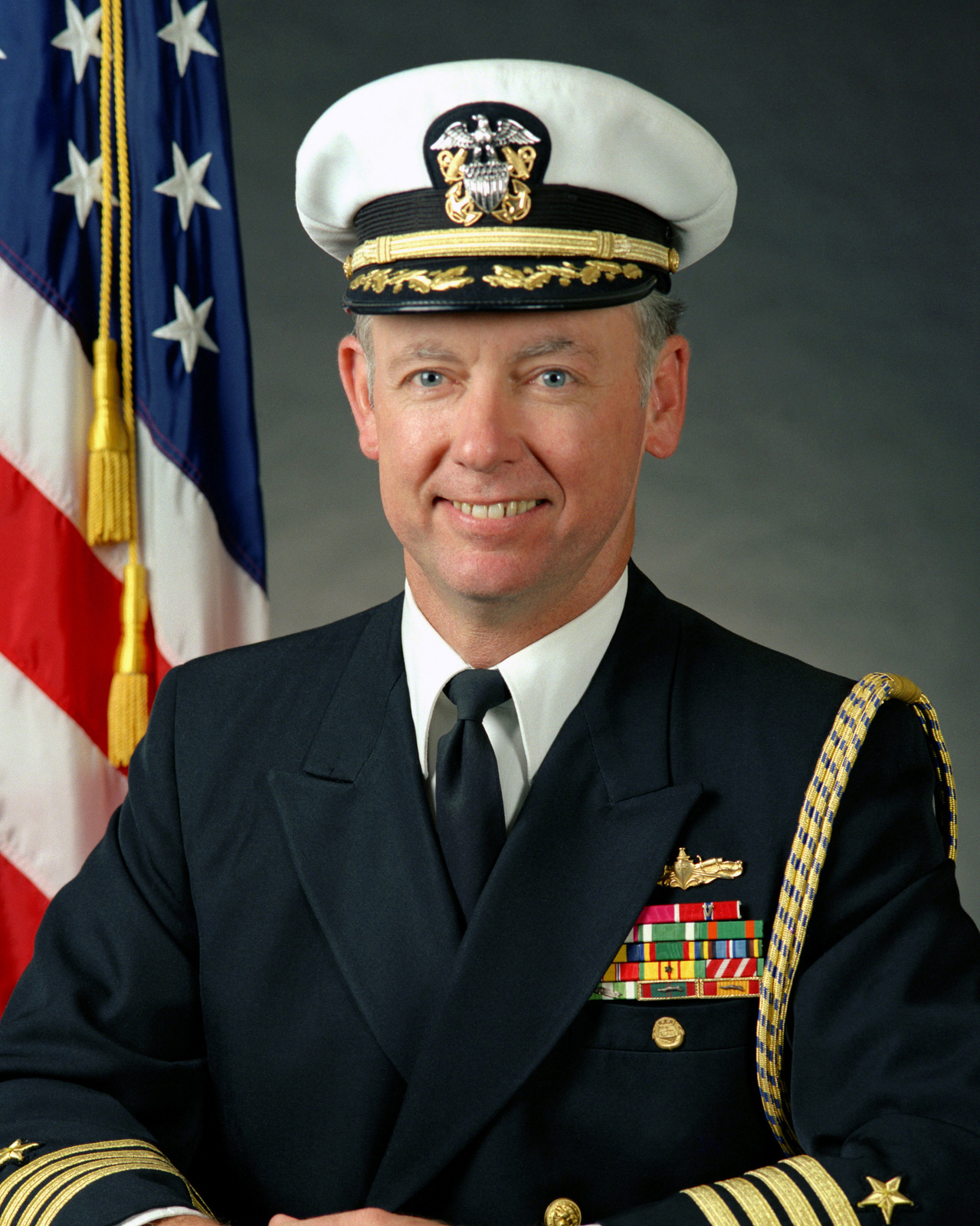 Captain Roland T.E. Bowler USN (covered)