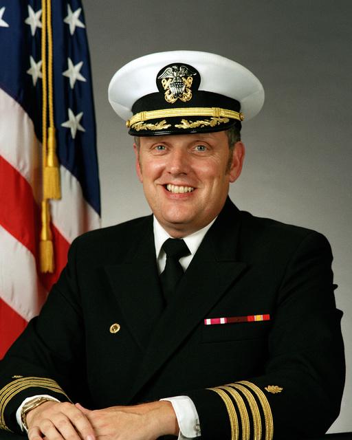 Captain James M. Blackford, USN (covered)