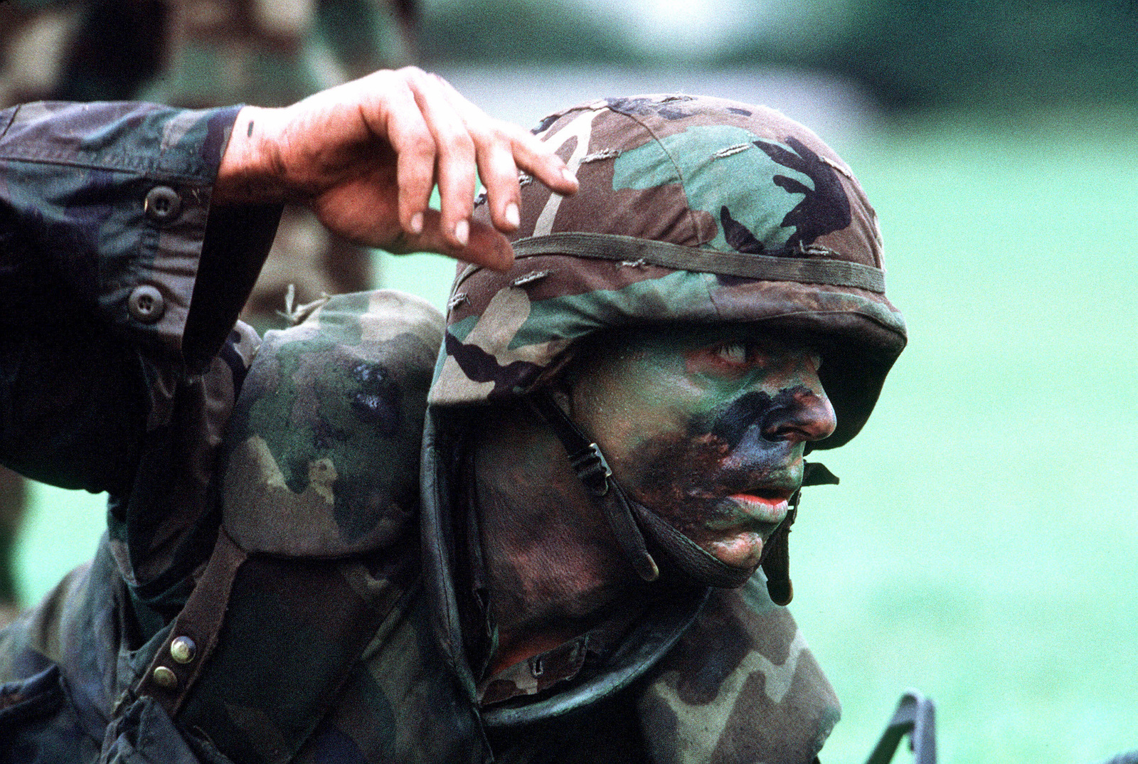 A Fire Team Leader From The 2nd Light Armored Infantry Battalion Attached To Marine Forces