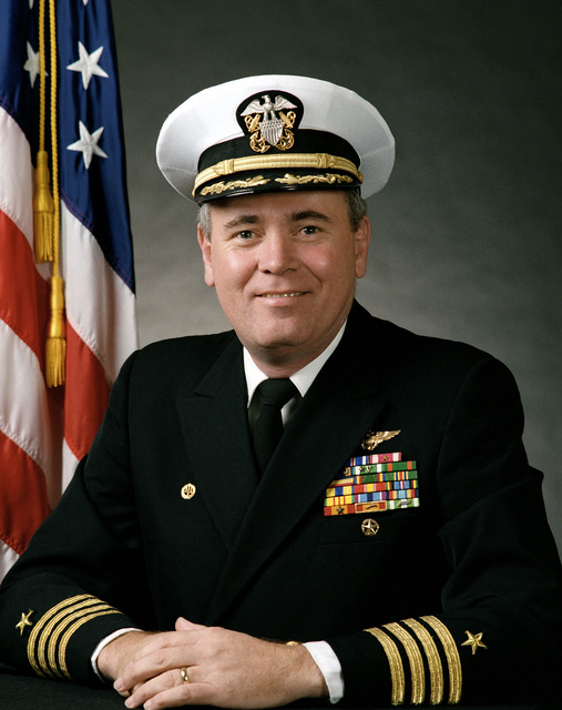 Captain John A. Lockard, USN (covered)