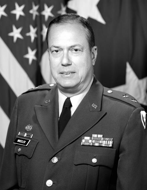 Major General Albin G. Wheeler, USA (uncovered)