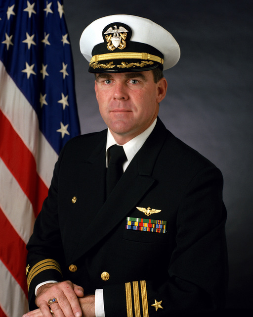 Commander Jeoffrey W. Dundas, USN (covered)
