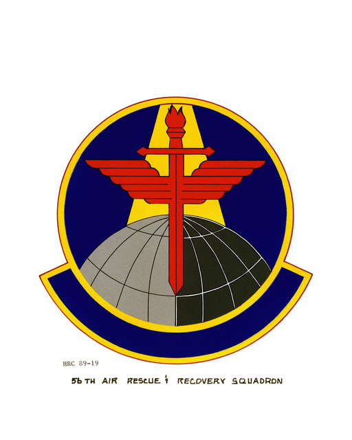 Approved insignia for:  56th Air Rescue and Recovery Squadron