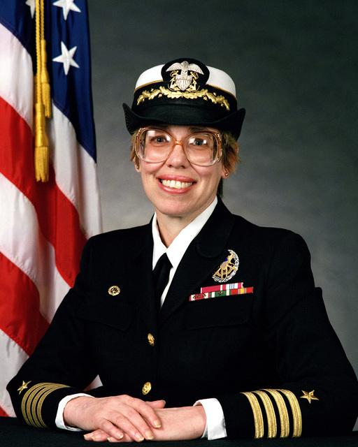 Captain Katherine L. Laughton, USN (covered)
