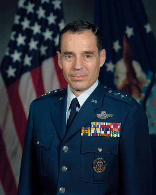 Lieutenant General Bradley C. Hosmer, USAF (uncovered)