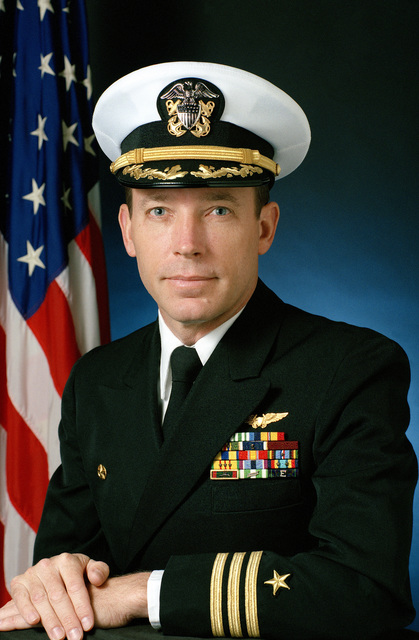 Commander Ronald A. Wiley, USN (covered)