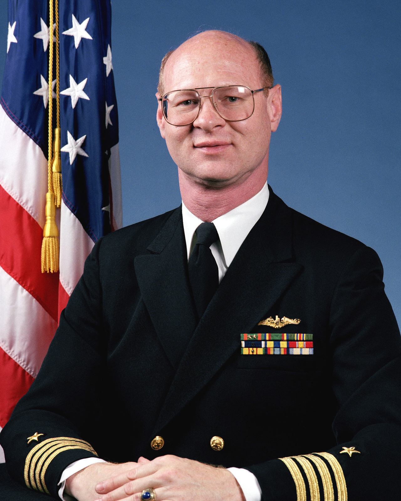 Captain Gary T. Satterfield, USN (uncovered)