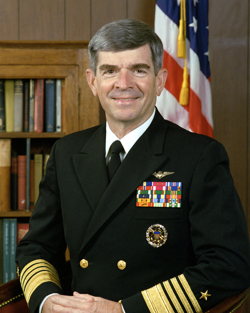 ADM Jerome L. Johnson, USN (uncovered)