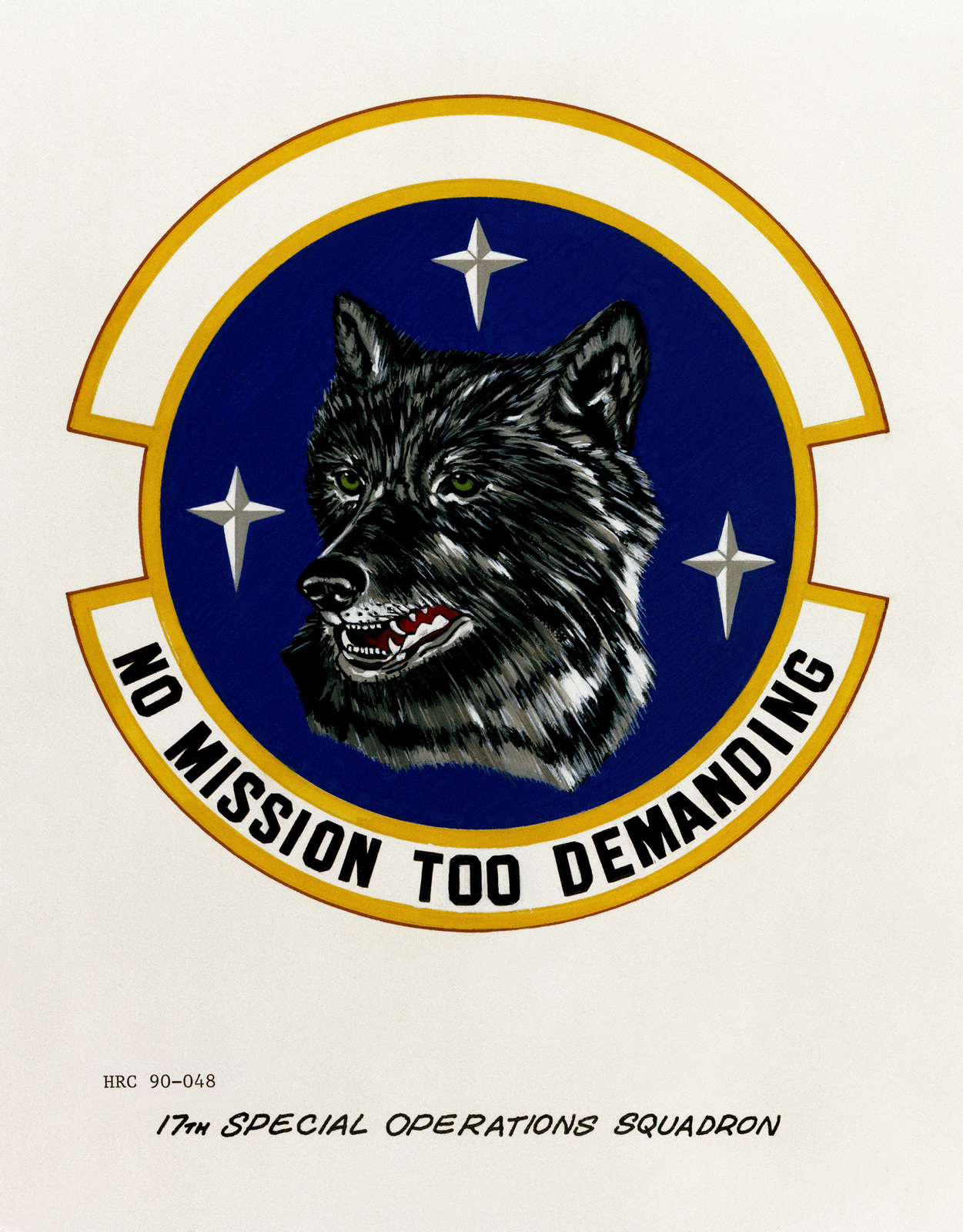 Approved insignia for:  17th Special Operations Squadron