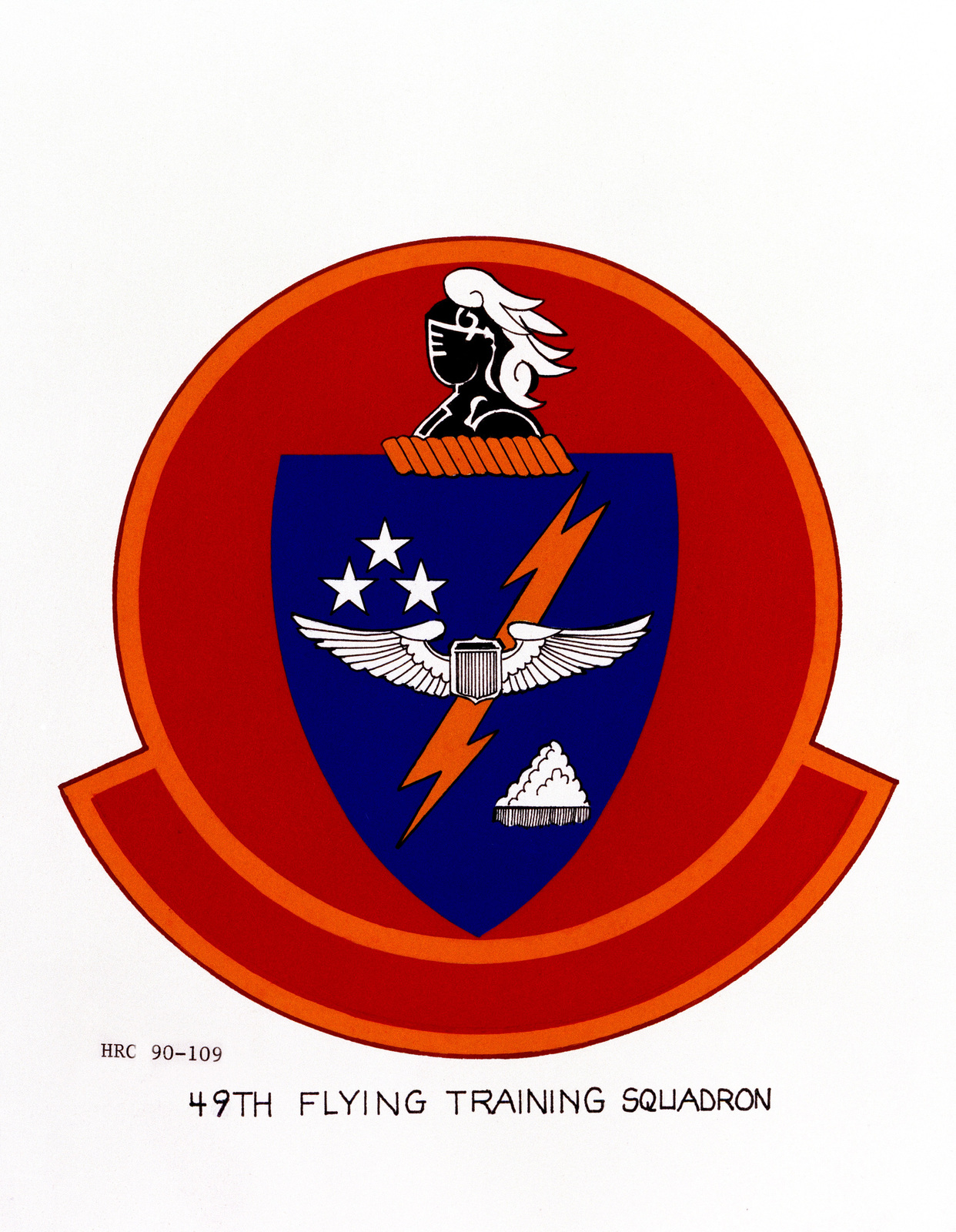 Approved insignia for: 49th Flying Training Squadron