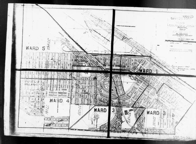 1940 Census Enumeration District Maps - Alabama - Jefferson County - Fairfield - ED 37-134 - ED 37-143