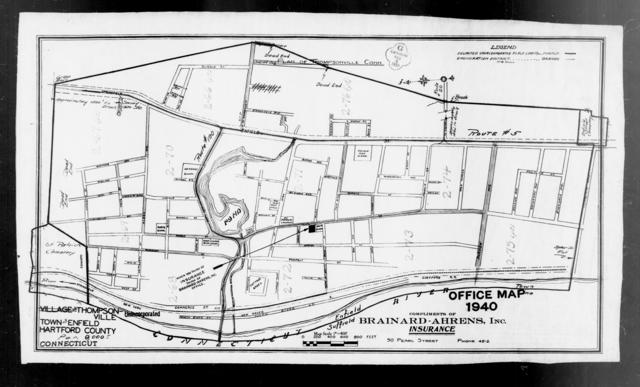 1940 Census Enumeration District Maps - Connecticut - Hartford County - Thompsonville - ED 2-66 - ED 2-75