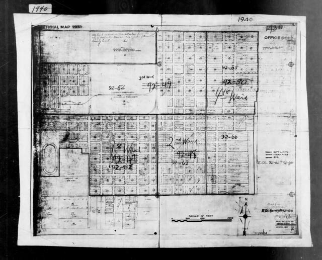 1940 Census Enumeration District Maps - Illinois - Vermilion County - Hoopeston - ED 92-62, ED 92-63, ED 92-64, ED 92-65, ED 92-66