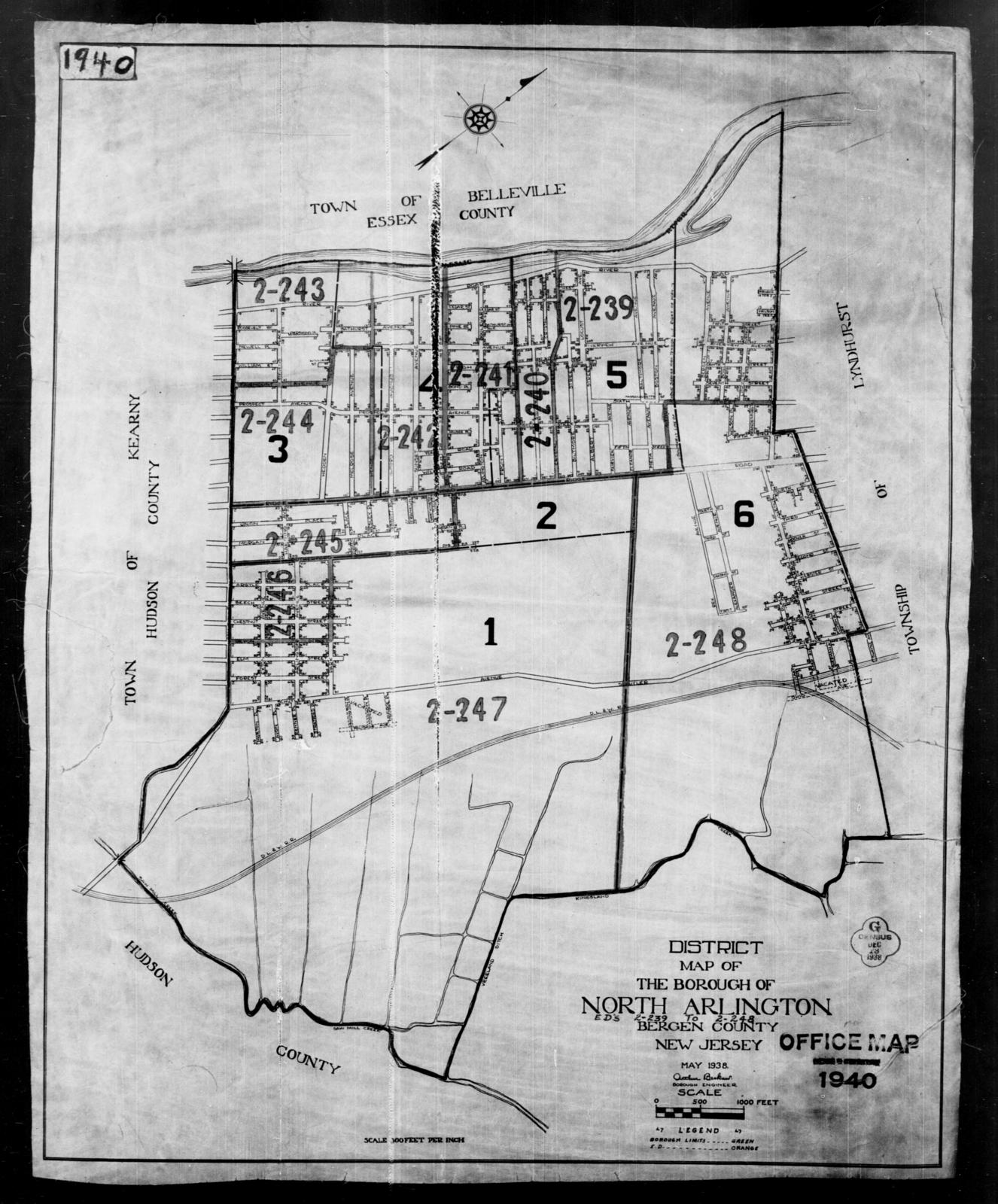 1940 Census Enumeration District Maps - New Jersey - Bergen ... on morris county, burlington county, somerset nj map, oakland nj map, richmond nj map, branch brook park nj map, orange county ny map, sussex county, waterloo village nj map, edgewater neighborhood chicago map, river edge nj map, sparta township nj map, independence township nj map, passaic county, radburn nj map, hudson county, oradell nj map, middlesex county, mercer county, palisades interstate parkway nj map, musconetcong river nj map, somerset county, westchester county, union county map, hunterdon county, essex county, rockland county, monmouth county, parsippany nj map, warren county, pittsburgh nj map, greenwich township nj map, maryland nj map, union county, delran township nj map, jersey city,