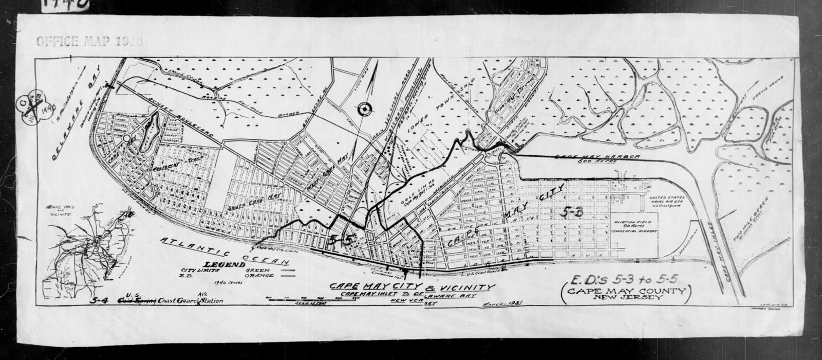 1940 Census Enumeration District Maps - New Jersey - Cape ... on rehoboth beach, jersey shore, long branch, ocean county, cape may lighthouse, town of cape may map, mercer county, leonia new jersey map, cape may beach map, atlantic city, cape may tourist map, cape may county, cape may county herald, town bank cape may map, cape may downtown map, cape may city map, southern new jersey map, stone harbor, sea isle city, delaware bay, south jersey, asbury park, rio grande, belmar new jersey map, cape may street map, cumberland county new jersey map, cape may diamonds, cape may sound, ocean city, lawrence township new jersey map, strathmere new jersey map, allentown new jersey map, cape may national wildlife refuge map, cape may county map, cape may nj,