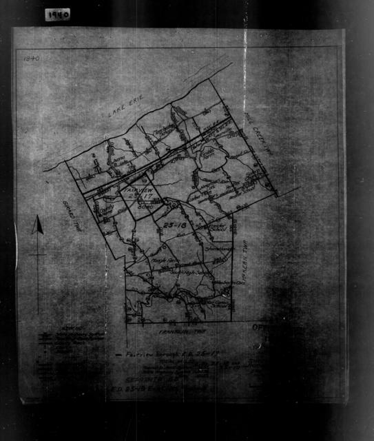 1940 Census Enumeration District Maps - Pennsylvania - Erie County - Fairview - ED 25-17, ED 25-19
