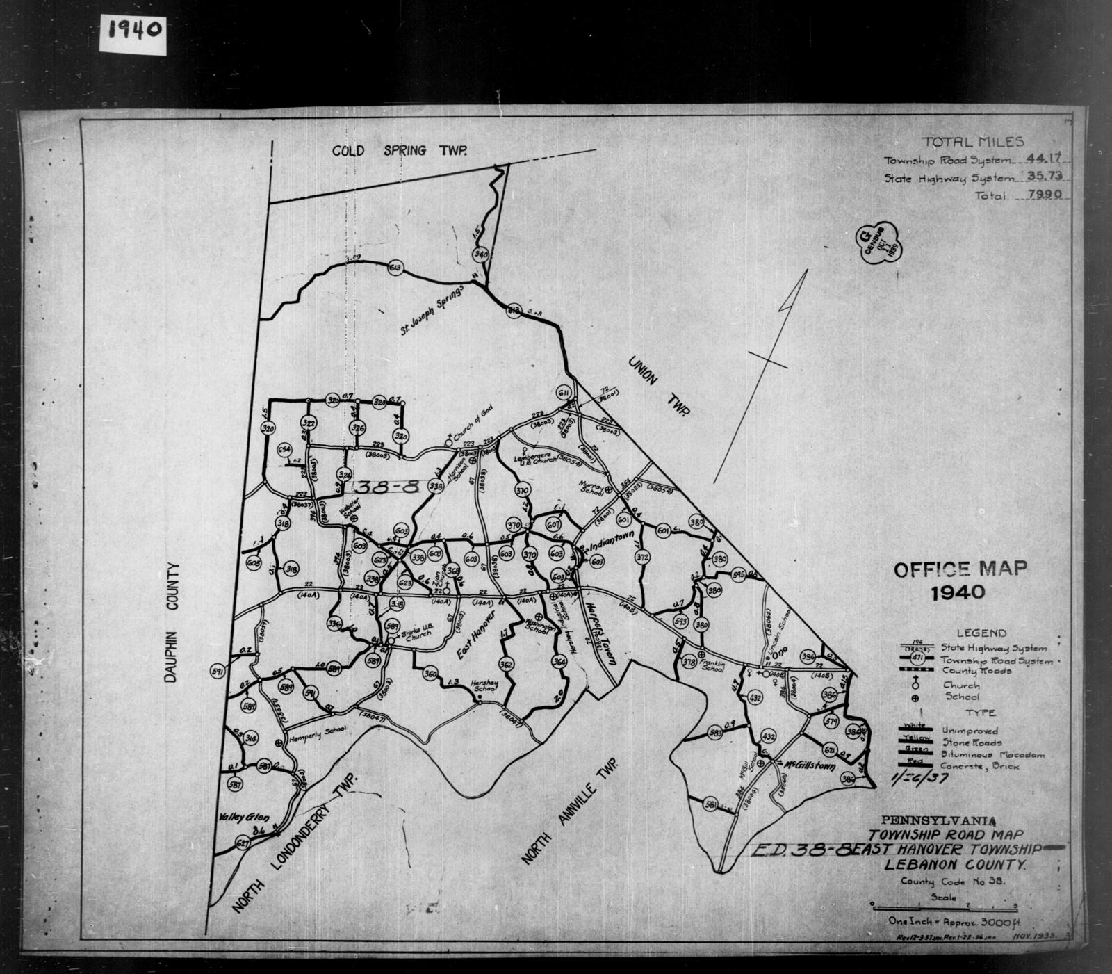 1940 Census Enumeration District Maps - Pennsylvania ...