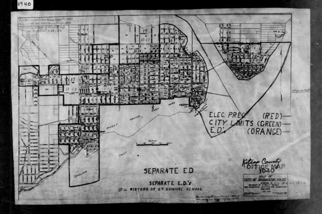 1940 Census Enumeration District Maps - Washington - Kitsap County - Bremerton - ED 18-6 - ED 18-26
