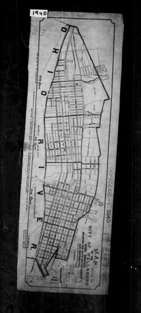 1940 Census Enumeration District Maps - West Virginia - Brooke County - Wellsburg - ED 5-20, ED 5-21, ED 5-22, ED 5-23, ED 5-24