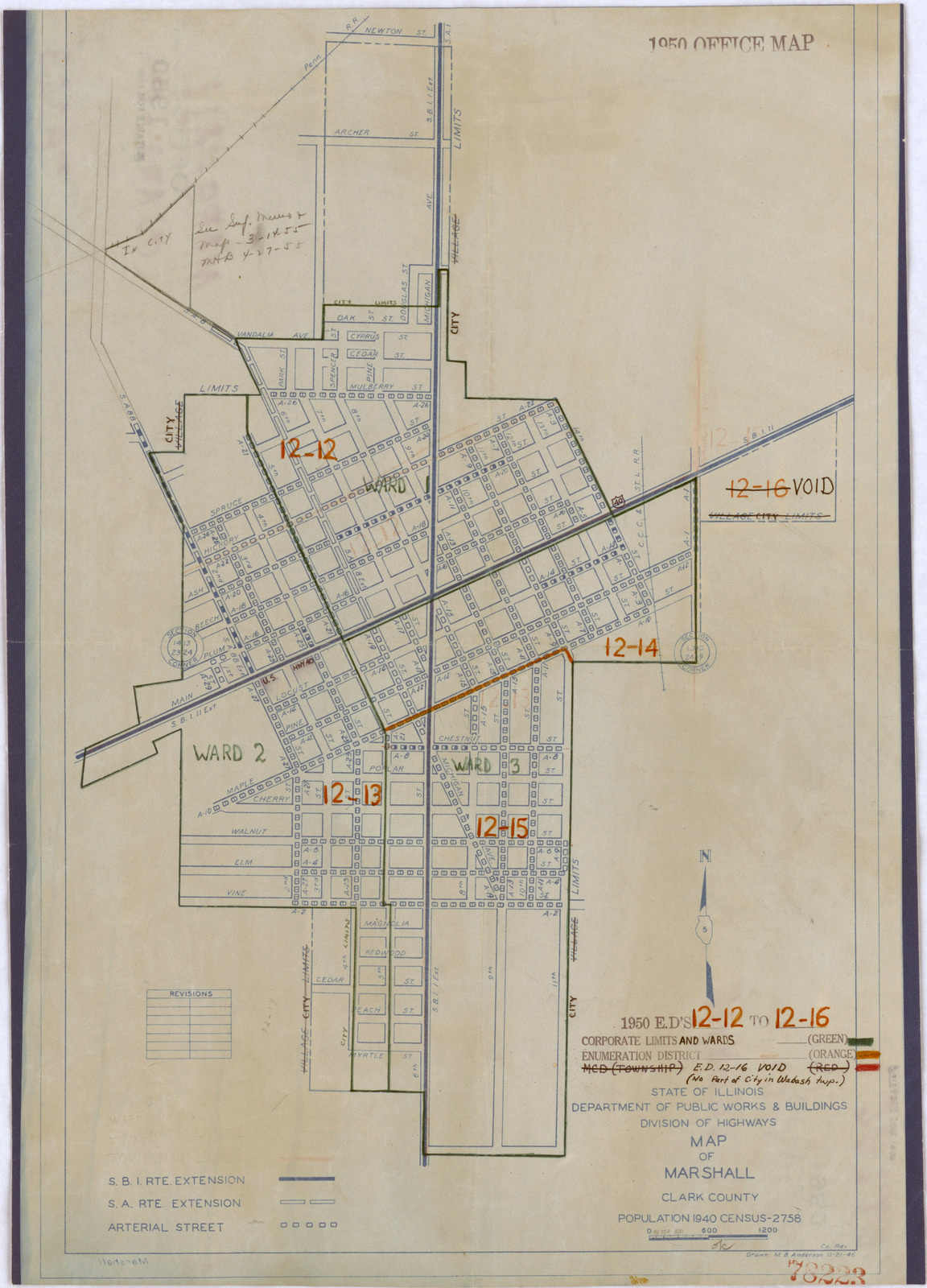 1950 Census Enumeration District Maps - Illinois (IL ... on las vegas valley map, william clark map, clark island map, clark school map, clark sd map, north las vegas map, clark colorado map, las vegas township map, nevada map, sandy valley map, ohio map,