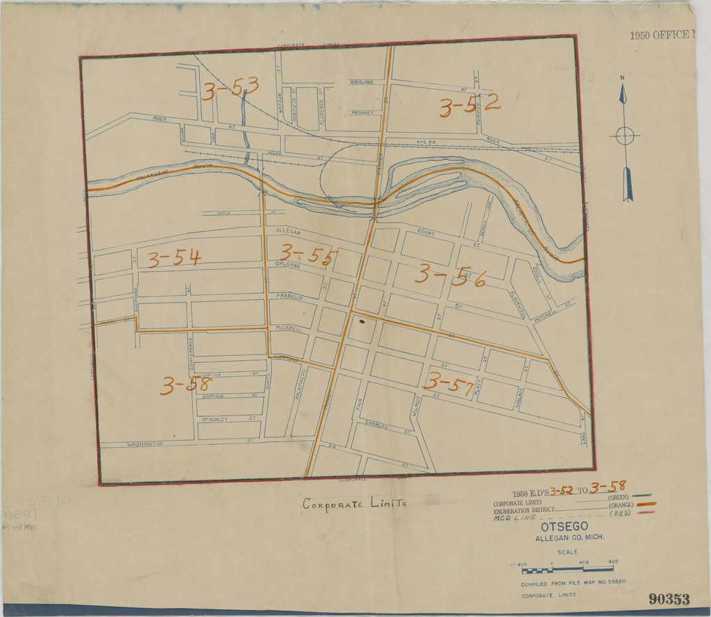 1950 Census Enumeration District Maps - Michigan (MI ... on map of allegan michigan, map of genesee county mi, map of hillsdale county mi, city of allegan mi, map of macomb county mi, map of roscommon county mi, map of barry county mi, osceola county mi, map of ottawa county road, map of gogebic county mi, map of mackinac county mi, map of st. clair county mi, map of wexford county mi, map of eaton county parks, map of allegan township mi, map of saginaw county mi, map of alger county mi, map of lapeer county mi, map of washtenaw county mi, map of ingham county mi,
