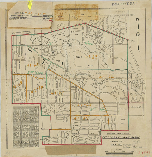 1950 Census Enumeration District Maps - Michigan (MI) - Kent County on benzie county mi map, person county map, old cobb county map, monroe county mi street map, grand rapids zip code map, ottawa county street map, harris county tx street map, jackson county mi street map, morrison county road map, livingston county mi street map, essex county nj street map, montgomery county md street map, caledonia township michigan street map, gaines county road map, southwest mi map, macomb county mi street map, kent county districts, michigan county map, kent county seal,