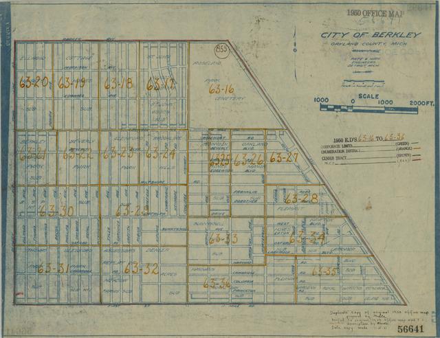 1950 census enumeration district maps michigan mi oakland 1950 census enumeration district maps michigan mi oakland county berkley freerunsca Image collections