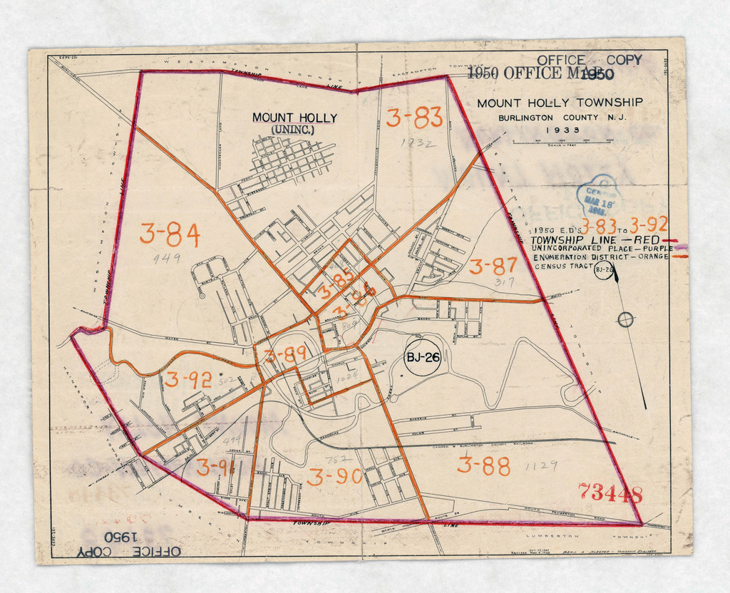 1950 Census Enumeration District Maps - New Jersey (NJ) - Burlington on somerset park nj map, stafford county nj map, south jersey, bordentown nj map, south bound brook nj map, ocean county nj map, bergen county nj map, atlantic county nj map, monmouth county, hudson county, cape may county, essex county, middlesex county, cumberland county, hunterdon county, mount laurel nj map, atlantic county, westampton nj map, gloucester county nj map, ocean county, passaic county, camden county, salem county nj map, bergen county, mercer county, warren county, blue anchor nj map, cherry hill nj map, gloucester county, lakehurst nj map, historic smithville nj trail map, wharton state forest nj map, monmouth county nj map, mercer county nj map, vista center nj map, somerset county, morris county, cumberland county nj map, union county,
