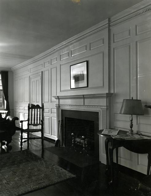 Benjamin Wadsworth House - Panel Wall Detail - Harvard, Cambridge, Massachusetts