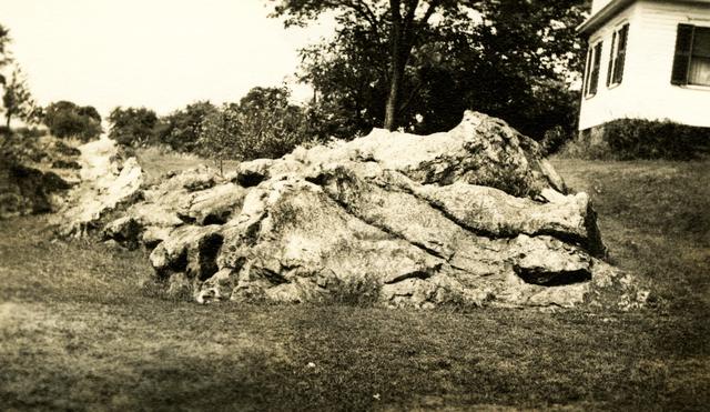 Ochee Spring Quarry - Corner of House - Johnston, Rhode Island