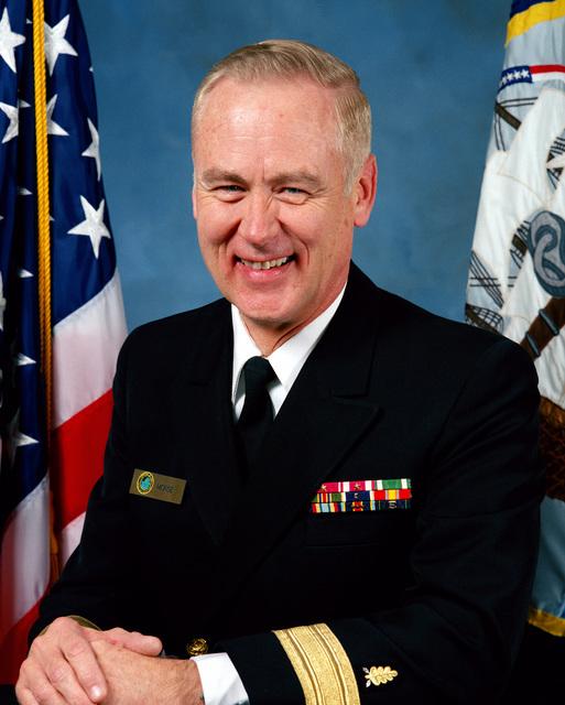 RDML (lower half) Ronald P. Morse, DC, USN (uncovered).