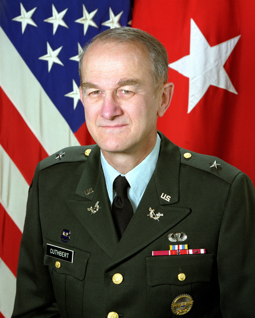 Brigadier General, Thomas R. Cuthbert, USA, uncovered
