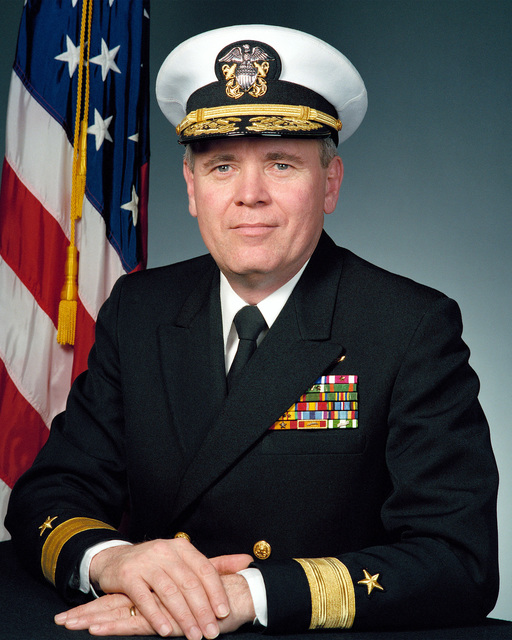 RDML (lower half) John A. Lockard, USN (covered)