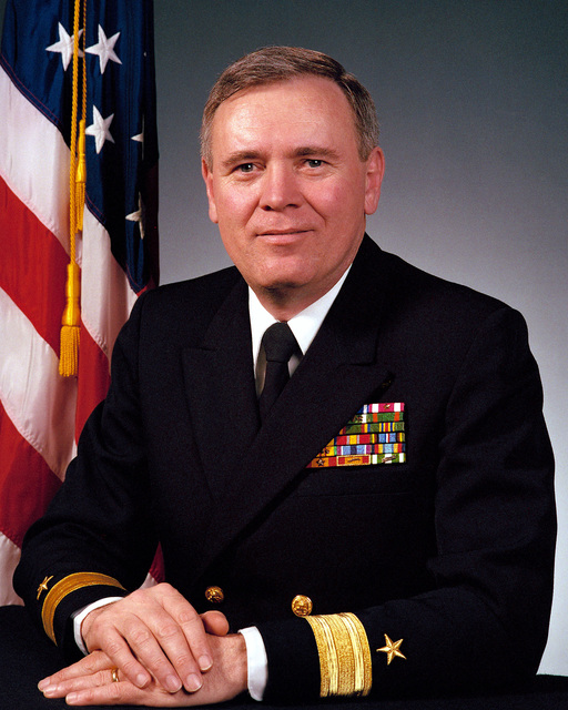 RDML (lower half) John A. Lockard, USN (uncovered)