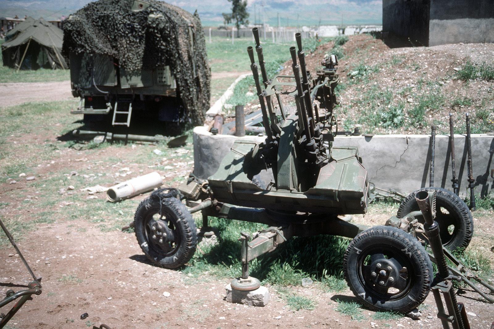 Soviet 4th anti-aircraft machine gun