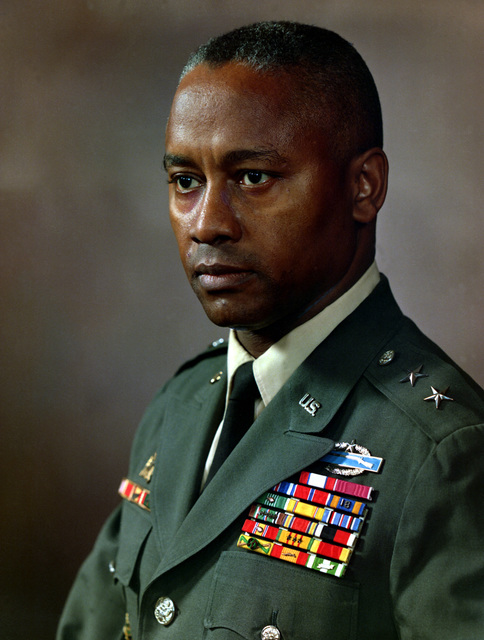 Major General Frederic Davison, USA, uncovered