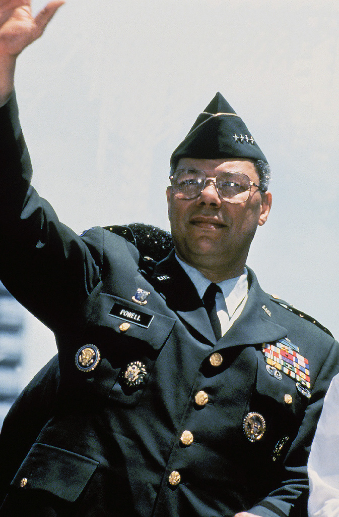 Us army usa general gen colin powell chairman joint for Chair joint chiefs of staff