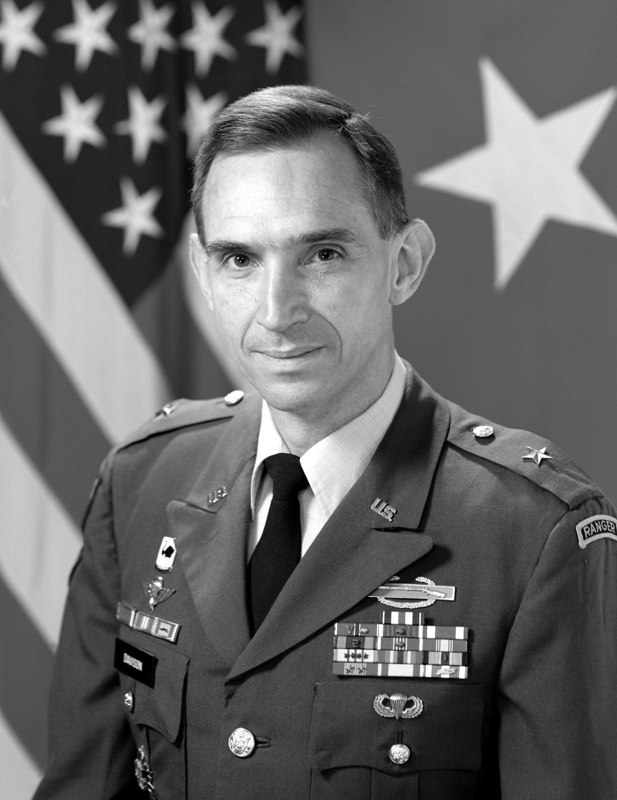 BGEN Michael S. Davison Jr., USA (uncovered)
