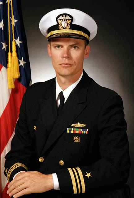 Lieutenant Commander David L. Frederick, USN (covered)