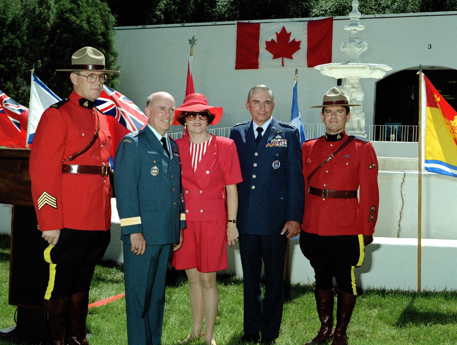 LGEN (Canadian Forces) Robert W  Morton, deputy commander-in